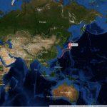 Япония на карте мира-min