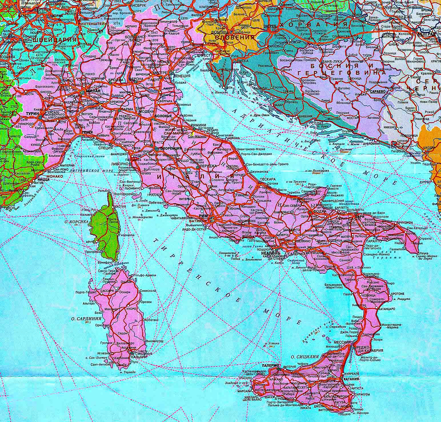 Играть на карте италии как играть в козла в карты без 7