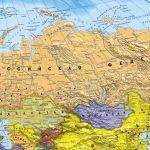Политическая карта России 2-min