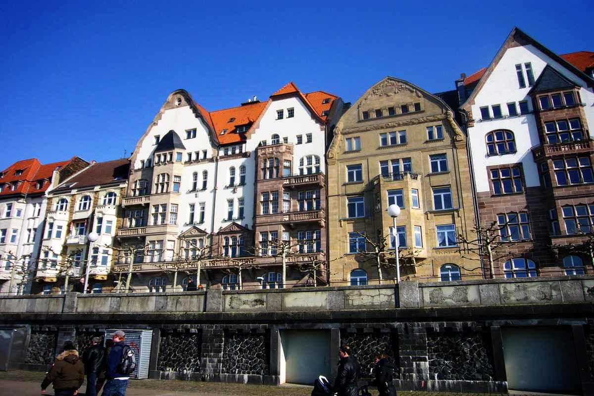 Дюссельдорф фото города