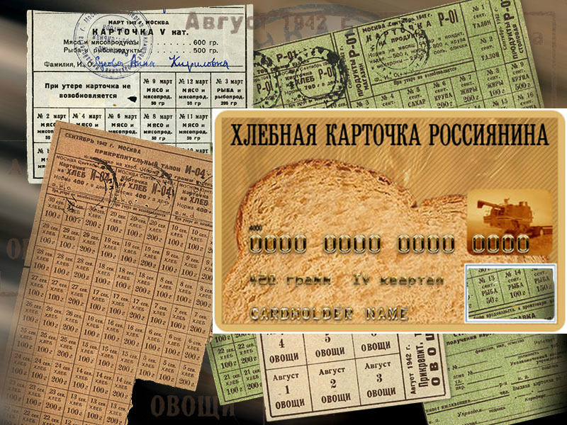 Введение продуктовых карточек в России в 2021 году