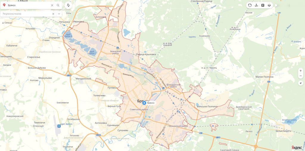 Характеристика города Брянск