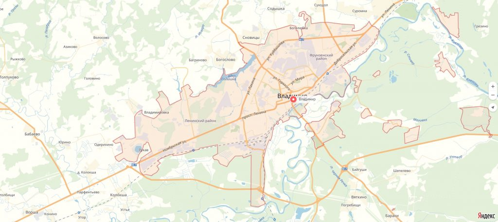 Характеристика города Владимир Владимирской области