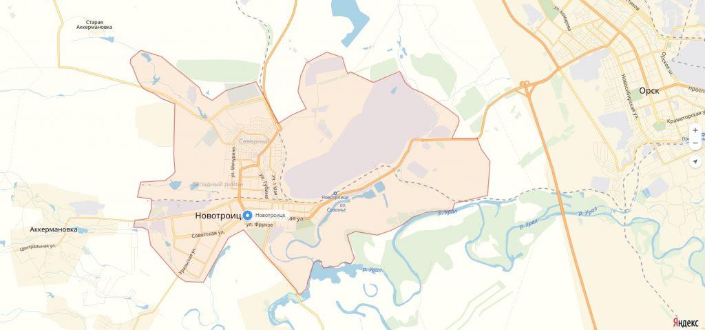 Характеристика города Новотроицк Оренбургская область