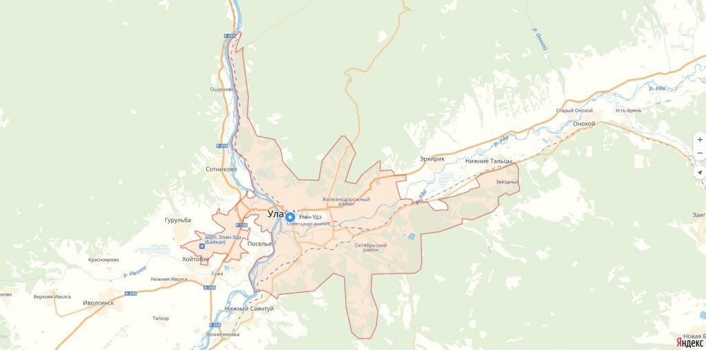 Характеристика города Улан-Удэ