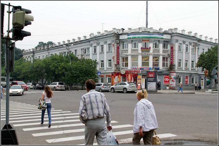 Схема улиц уссурийска