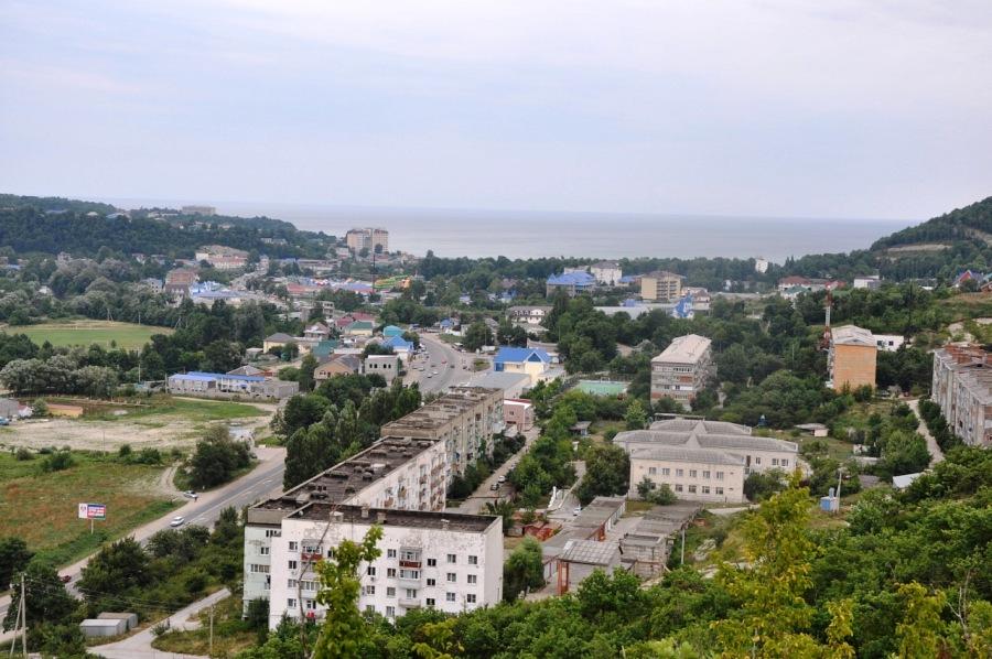 фото города джубга