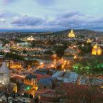 Карта Тбилиси подробная с улицами, домами на русском