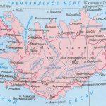 физическая карта Исландии-min