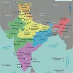 Карта индии по регионам-min