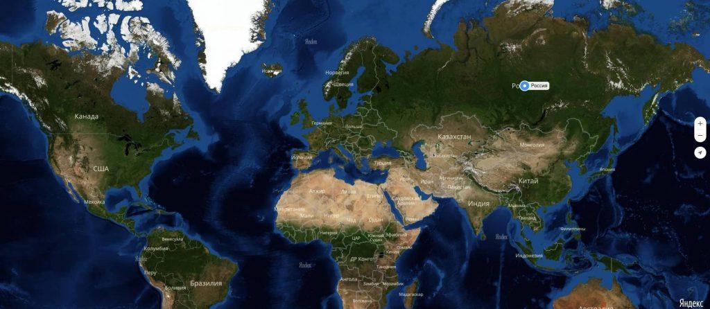 Россия на карте мира: география, природа и климат