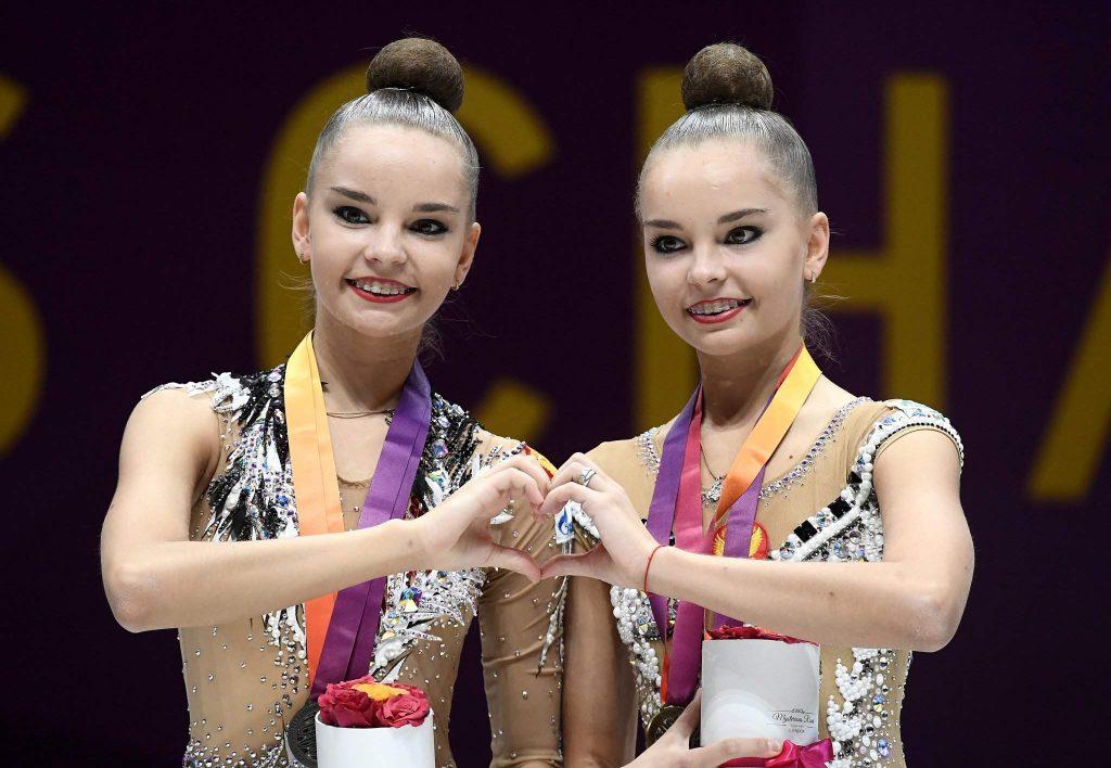 Дина и Арина Аверины гимнастки в Сборной России